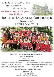Konzert in Delling